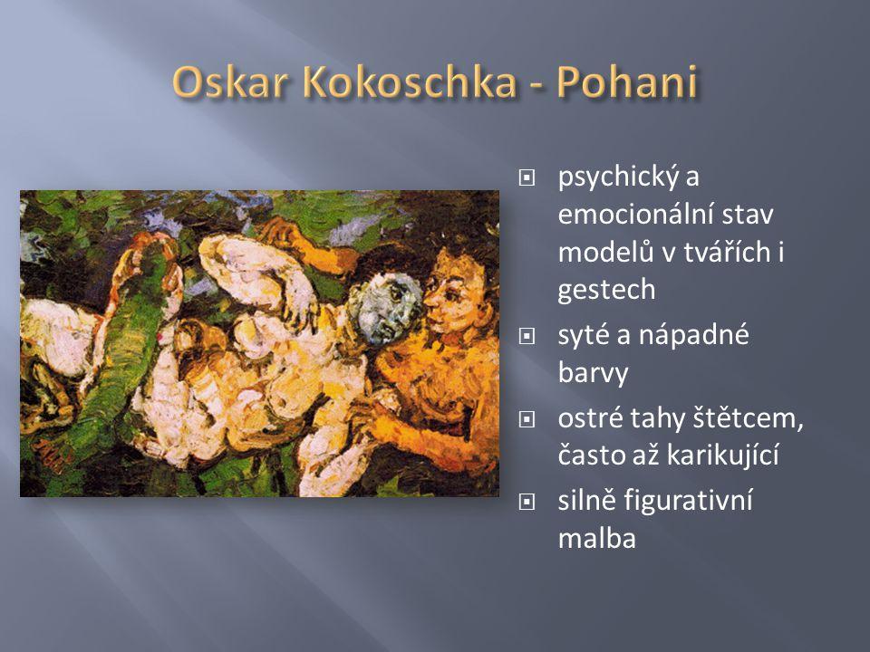 Oskar Kokoschka - Pohani