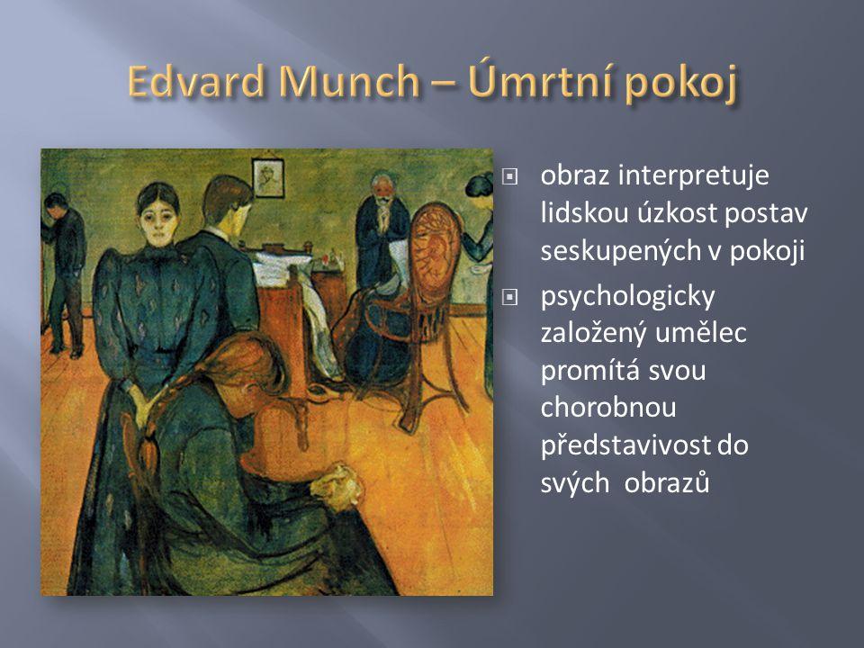 Edvard Munch – Úmrtní pokoj