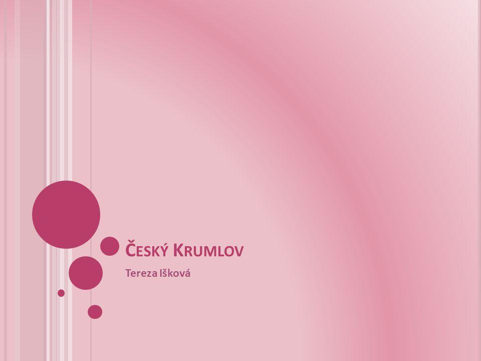 Český Krumlov Tereza Išková