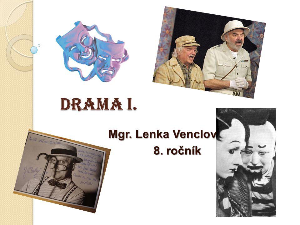 Mgr. Lenka Venclová 8. ročník