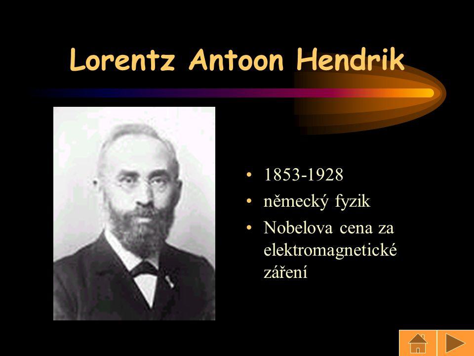 Lorentz Antoon Hendrik
