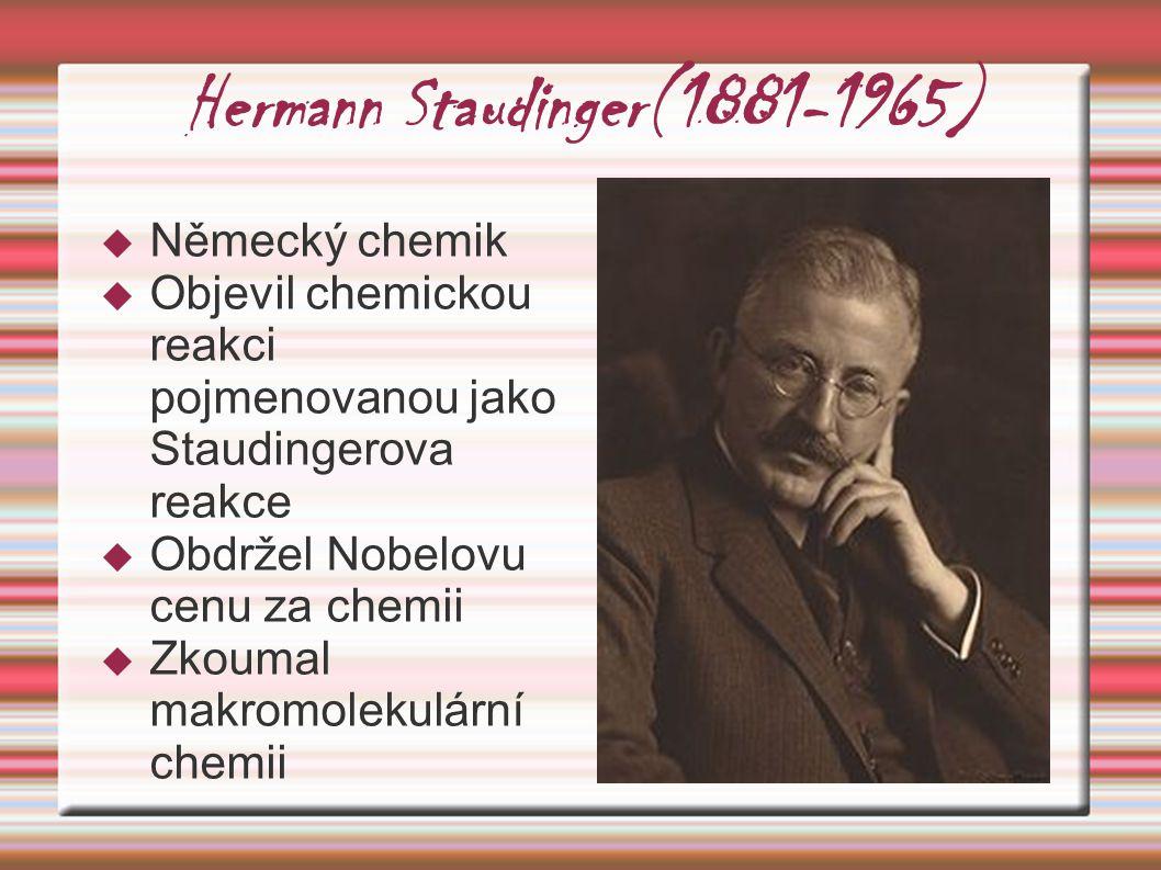 Hermann Staudinger(1881-1965)