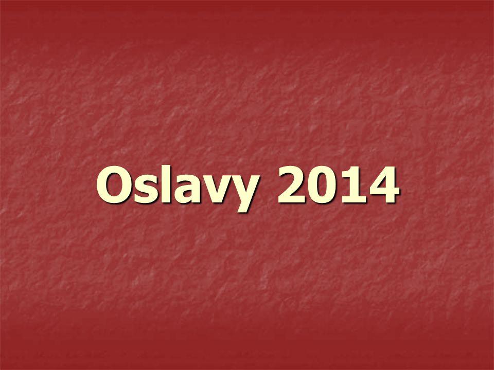 Oslavy 2014