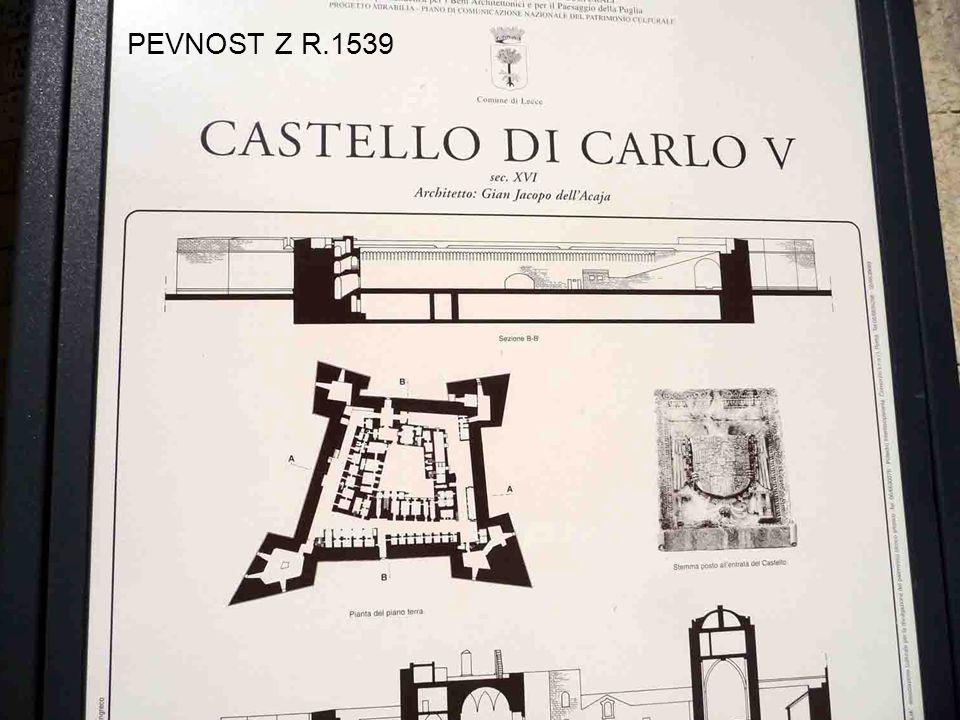 PEVNOST Z R.1539