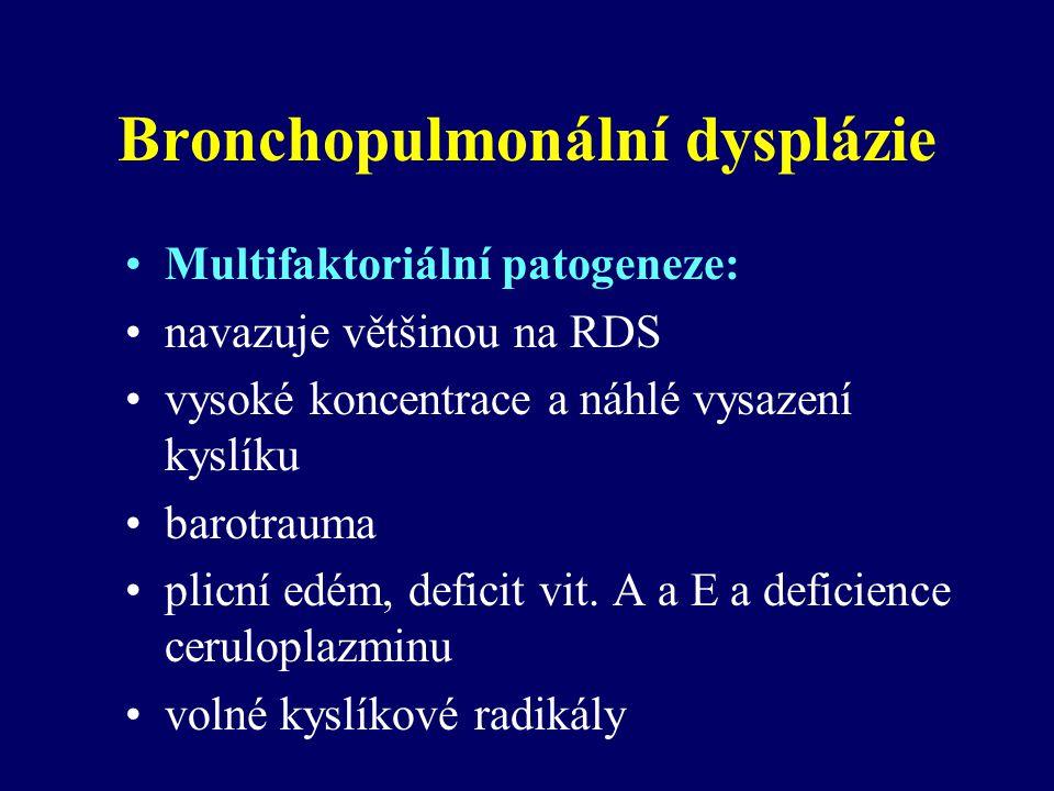 Bronchopulmonální dysplázie