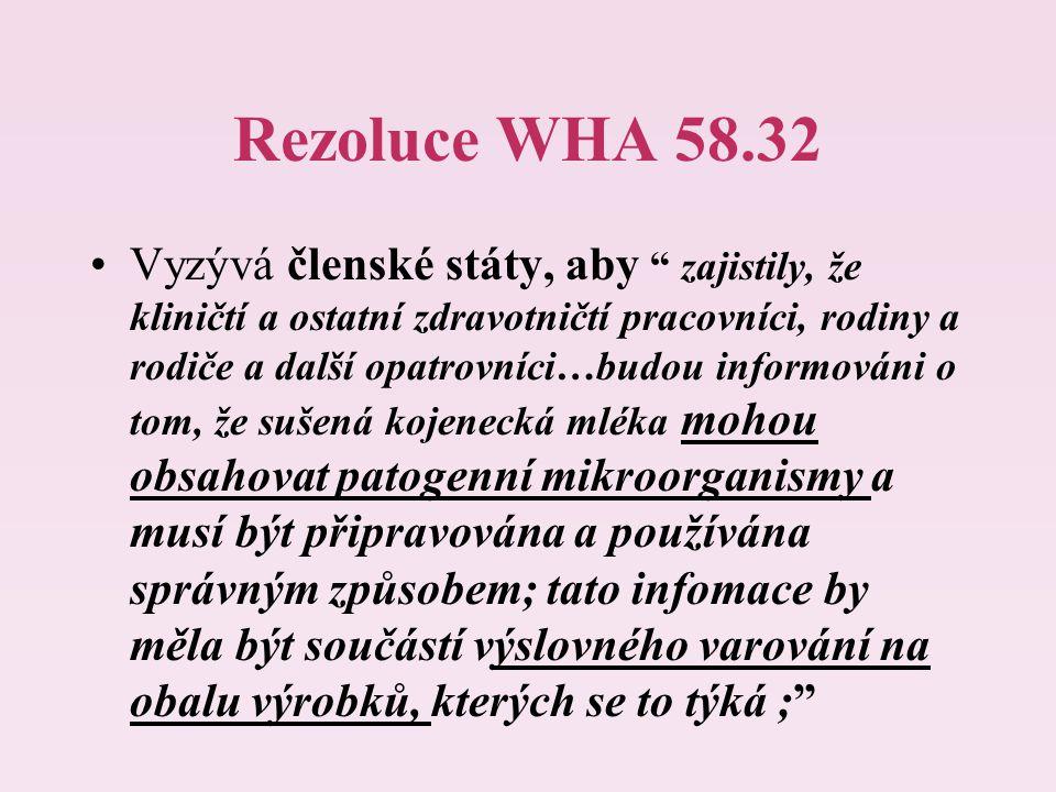 Rezoluce WHA 58.32