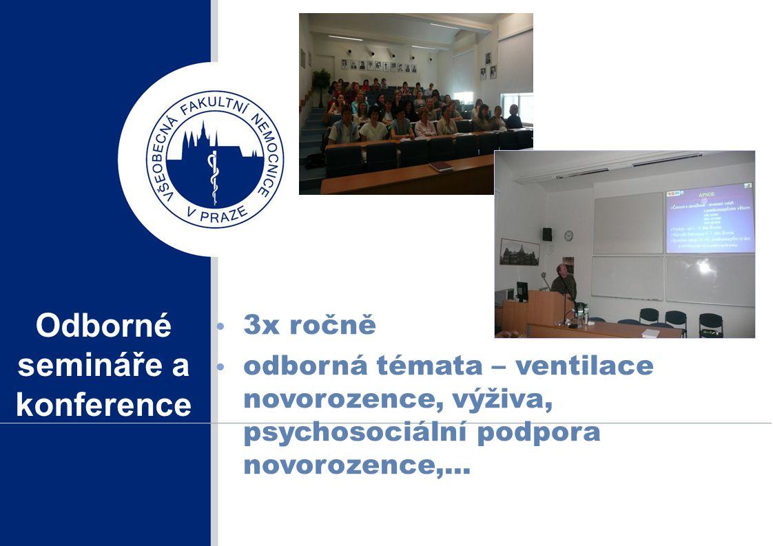 Odborné semináře a konference