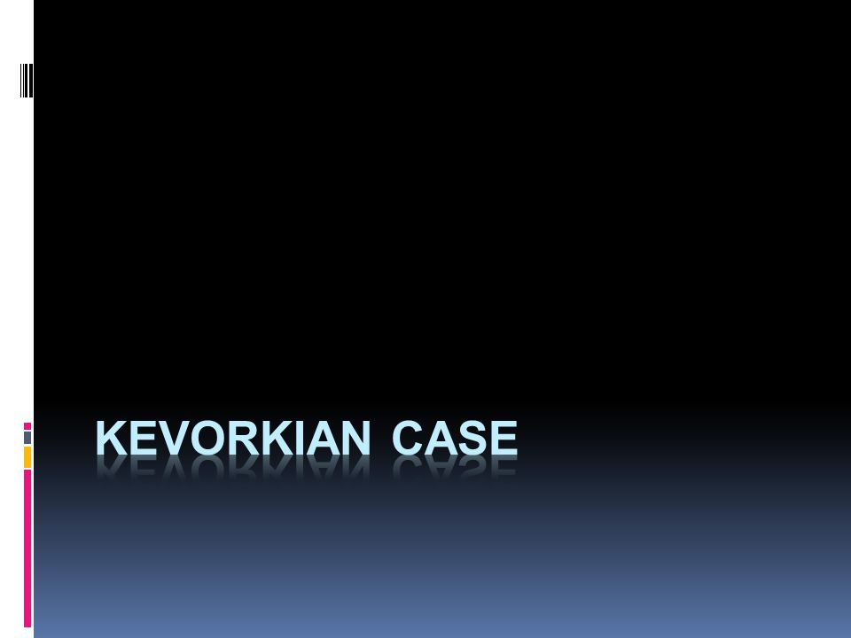 Kevorkian case