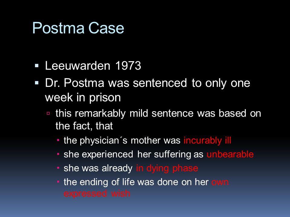 Postma Case Leeuwarden 1973