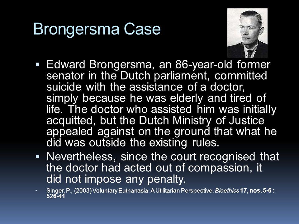 Brongersma Case