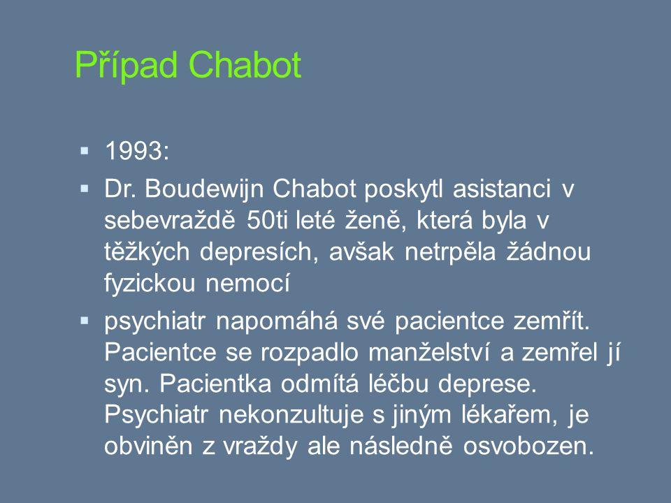 Případ Chabot 1993: