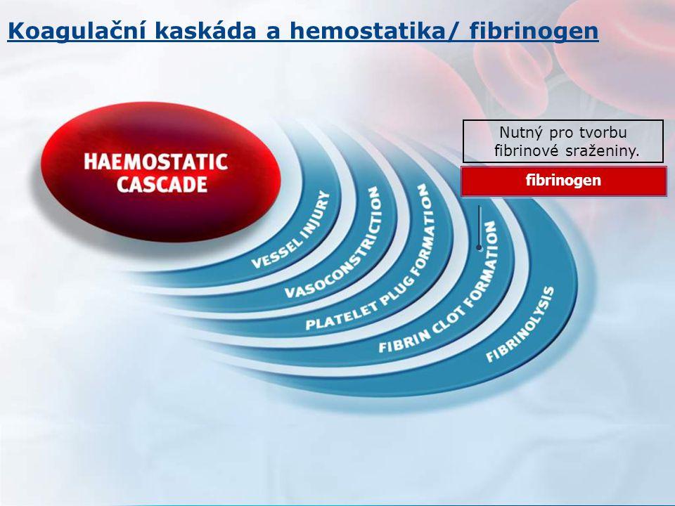 Nutný pro tvorbu fibrinové sraženiny.