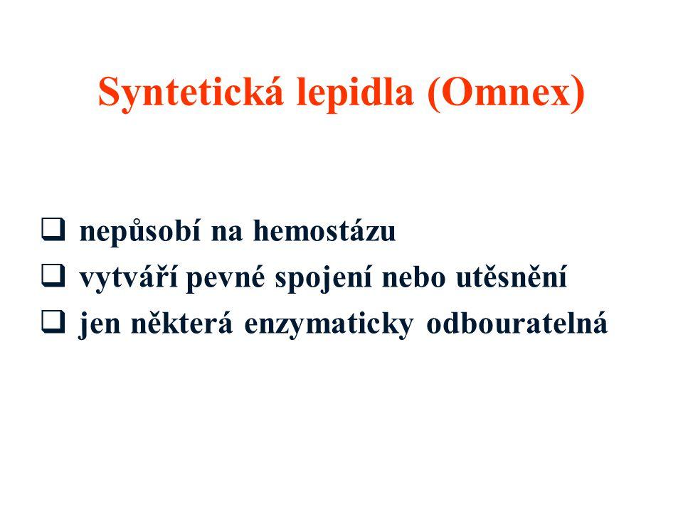 Syntetická lepidla (Omnex)