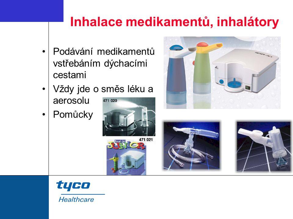 Inhalace medikamentů, inhalátory