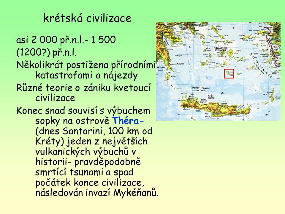 krétská civilizace
