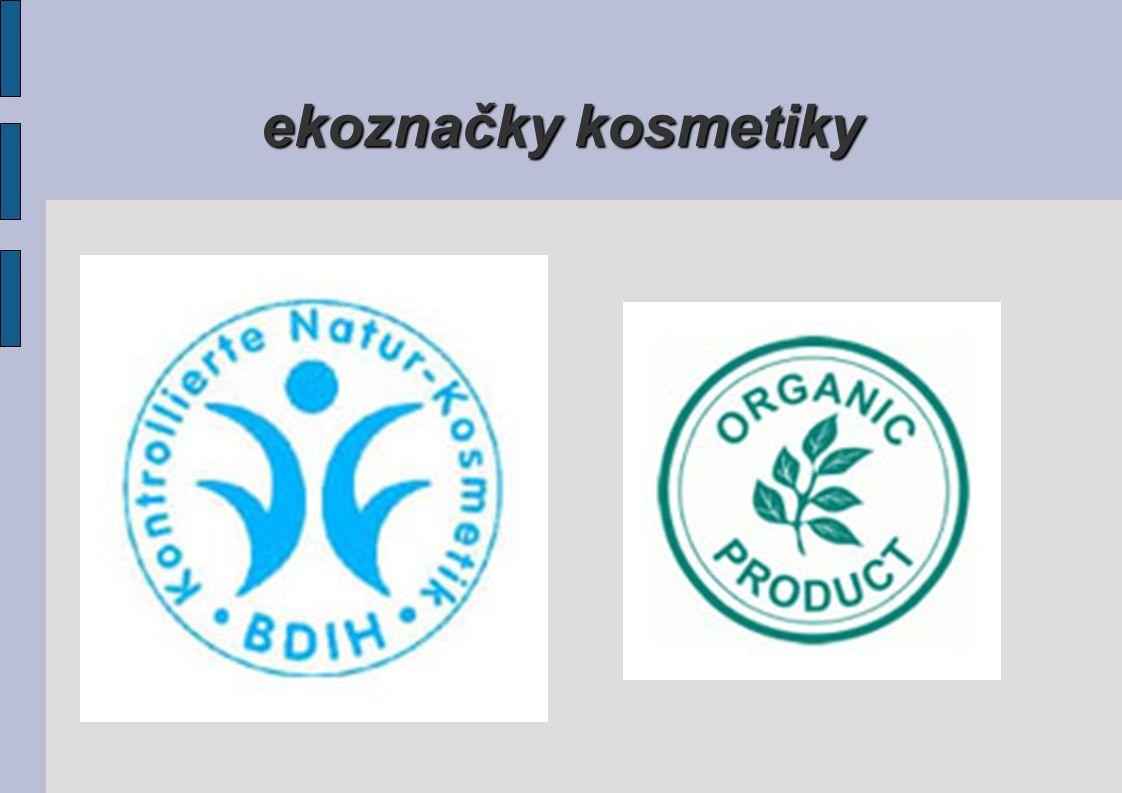 ekoznačky kosmetiky