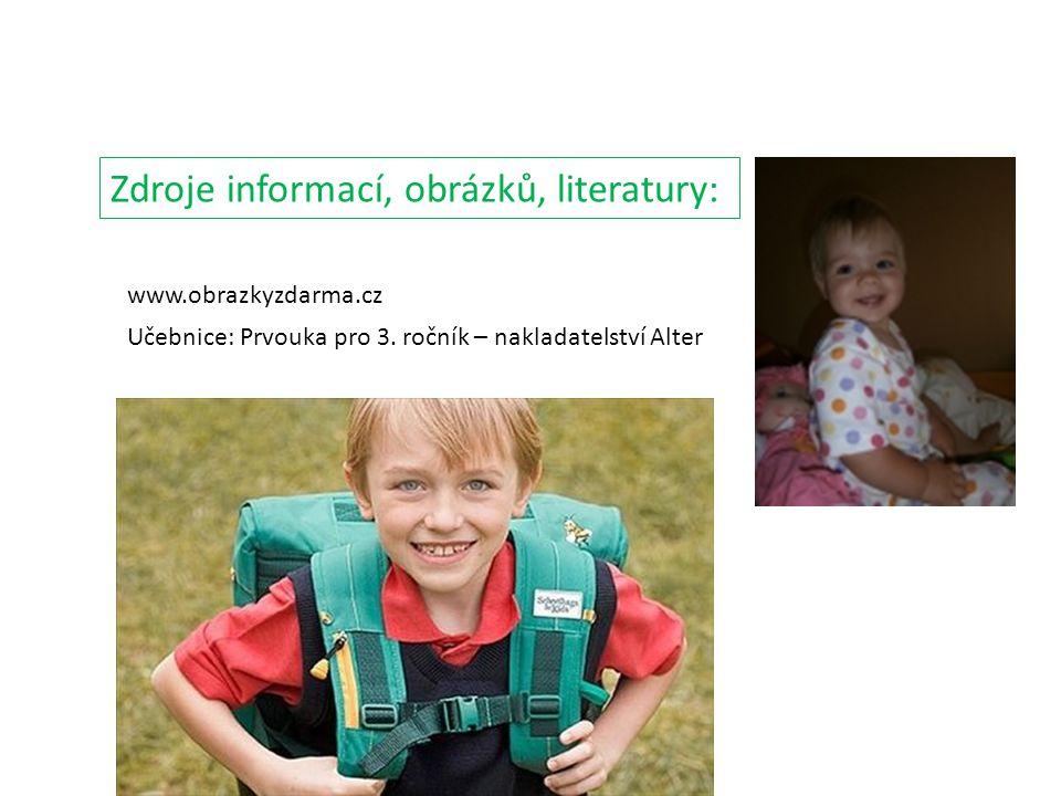 Zdroje informací, obrázků, literatury: