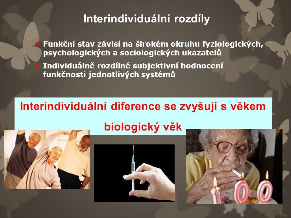 Interindividuální rozdíly