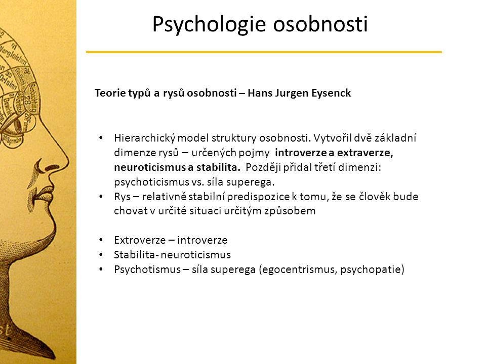 Psychologie osobnosti