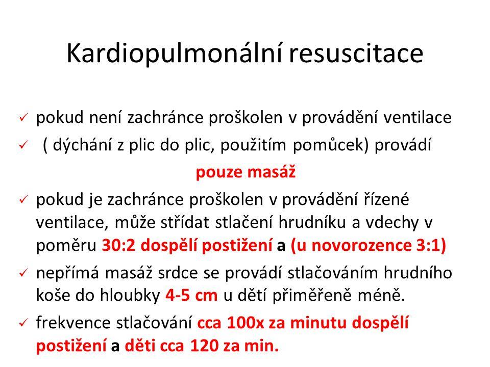 Kardiopulmonální resuscitace