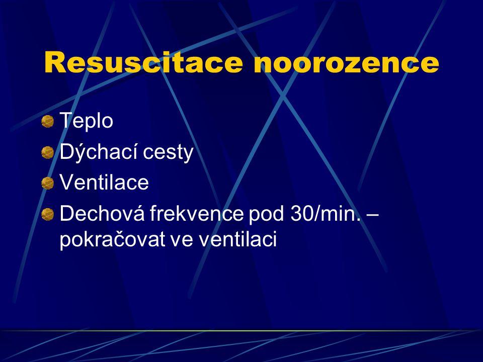 Resuscitace noorozence