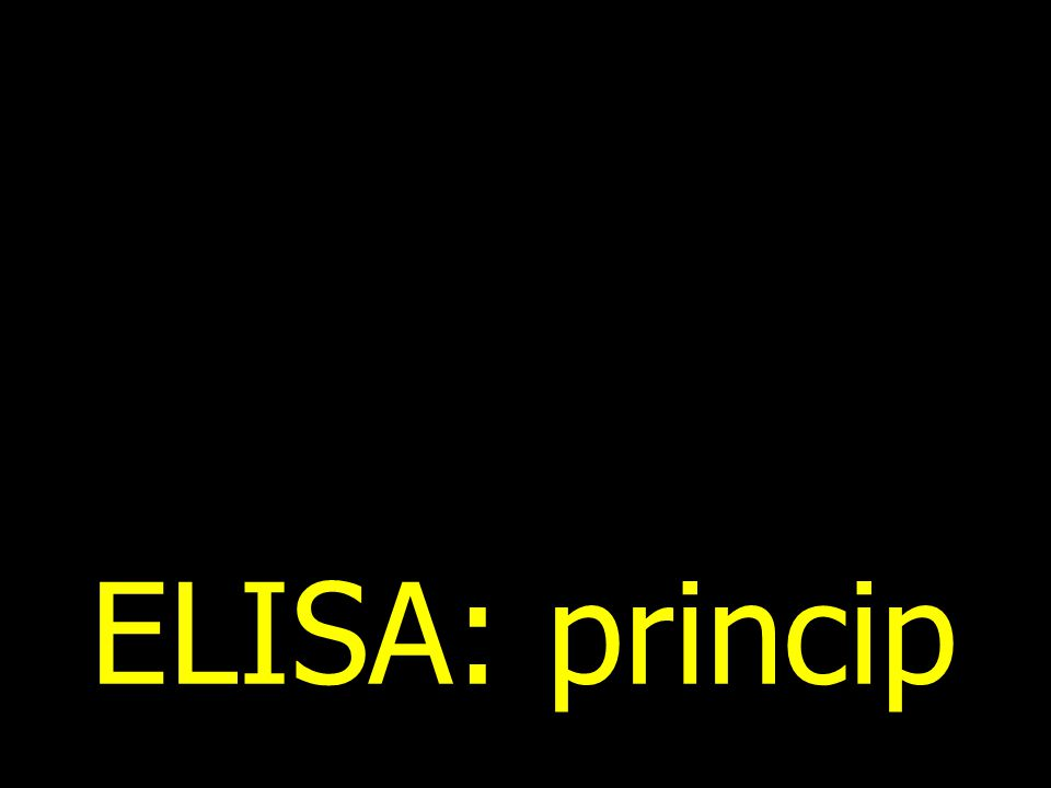 ELISA: princip