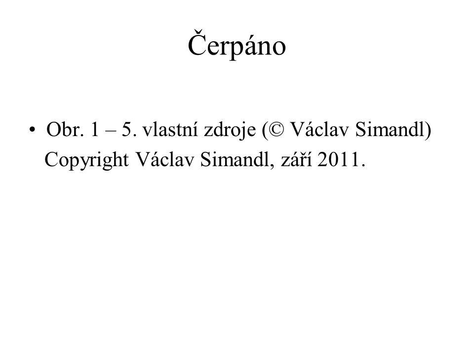 Čerpáno Obr. 1 – 5. vlastní zdroje (© Václav Simandl)