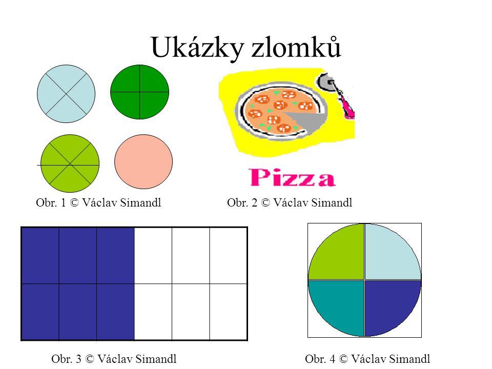 Ukázky zlomků Obr. 1 © Václav Simandl Obr. 2 © Václav Simandl
