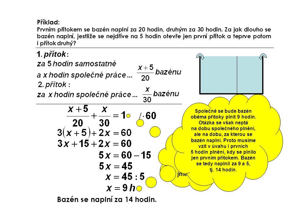 Zbavíme se zlomků vynásobením celé rovnice společným jmenovatelem
