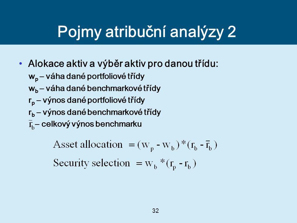 Pojmy atribuční analýzy 2
