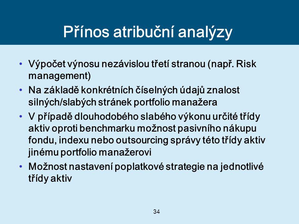 Přínos atribuční analýzy