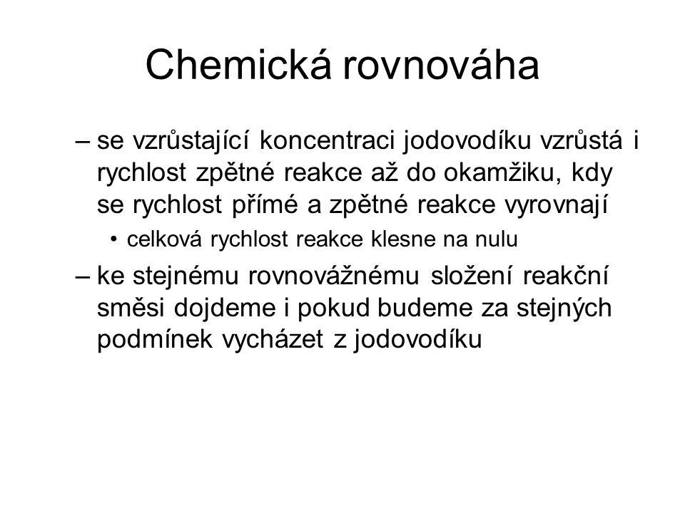 Chemická rovnováha