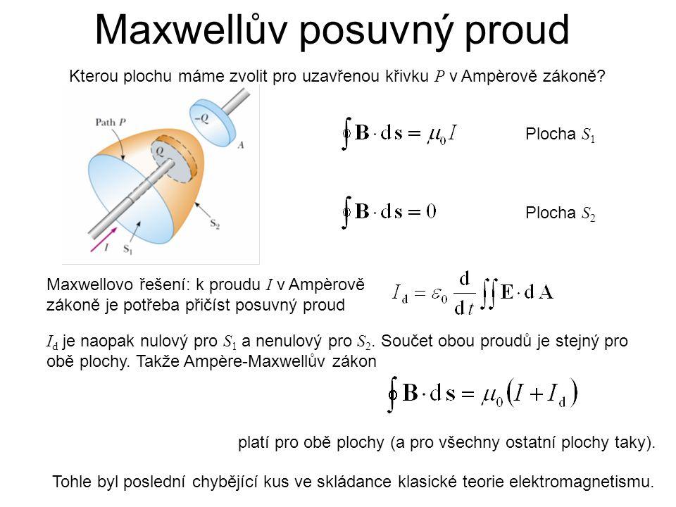Maxwellův posuvný proud