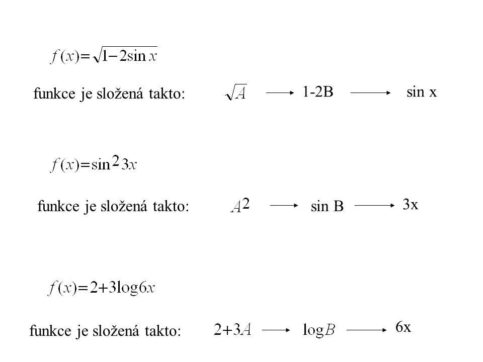 funkce je složená takto:
