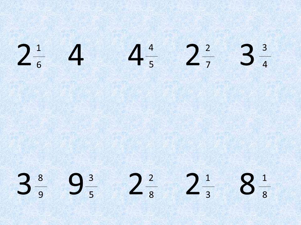 2 4. 4. 2. 3. 1. ------------- 6. 4. ------------- 5. 2. ------------- 7. 3. -------------