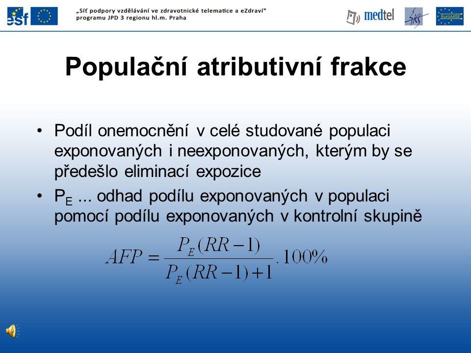 Populační atributivní frakce