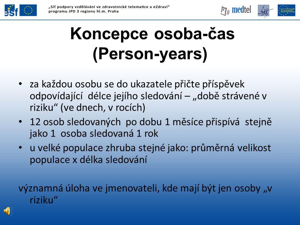 Koncepce osoba-čas (Person-years)