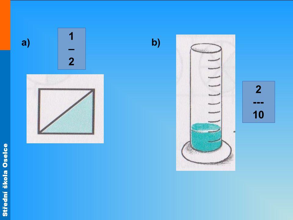 1 – 2 a) b) 2 --- 10