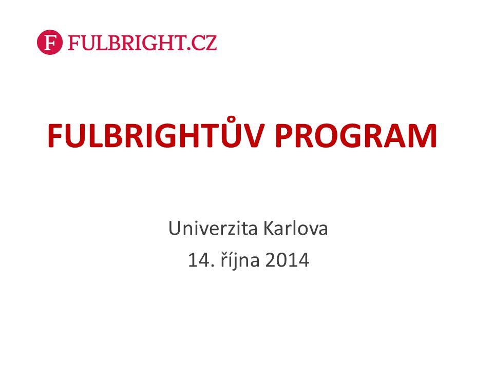 Univerzita Karlova 14. října 2014