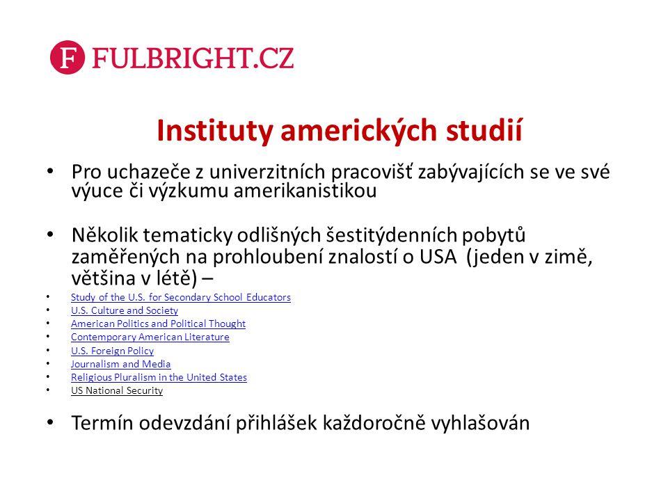 Instituty amerických studií