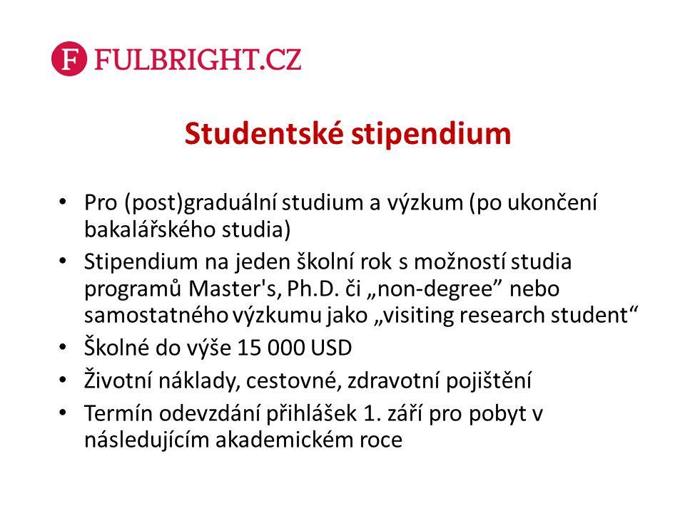 Studentské stipendium