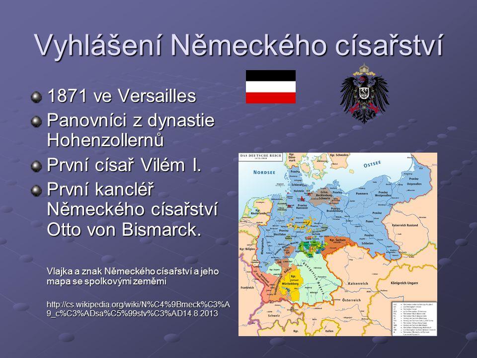 Vyhlášení Německého císařství