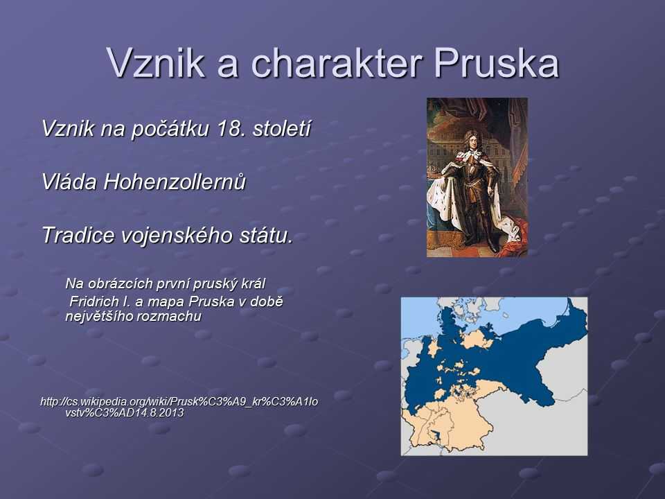 Vznik a charakter Pruska