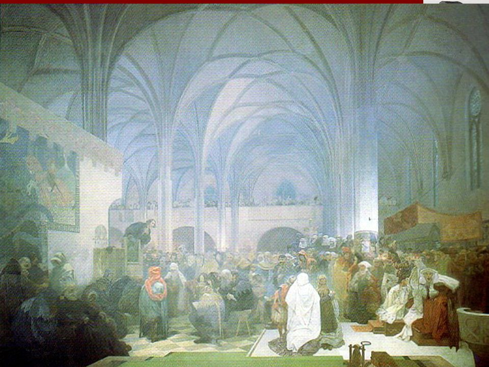 Mistr Jan Hus Narozen asi roku 1371 Husinec u Prachatic