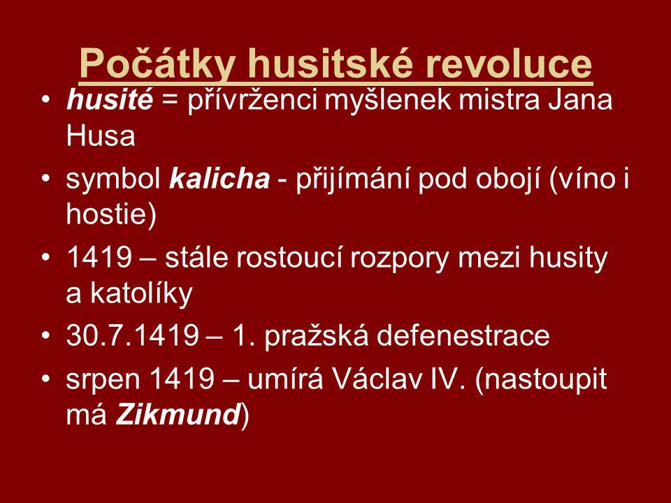 Počátky husitské revoluce