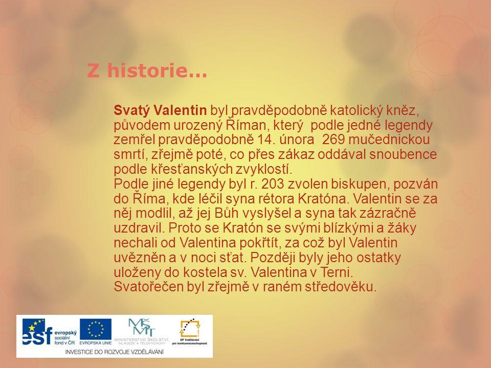 Z historie…
