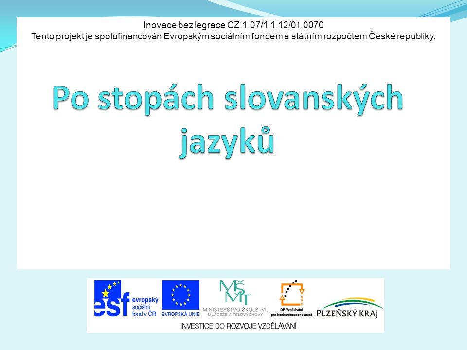 Po stopách slovanských jazyků