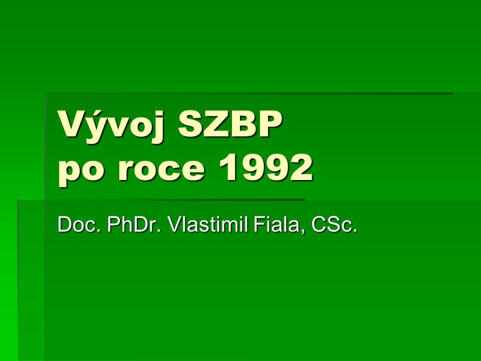Doc. PhDr. Vlastimil Fiala, CSc.