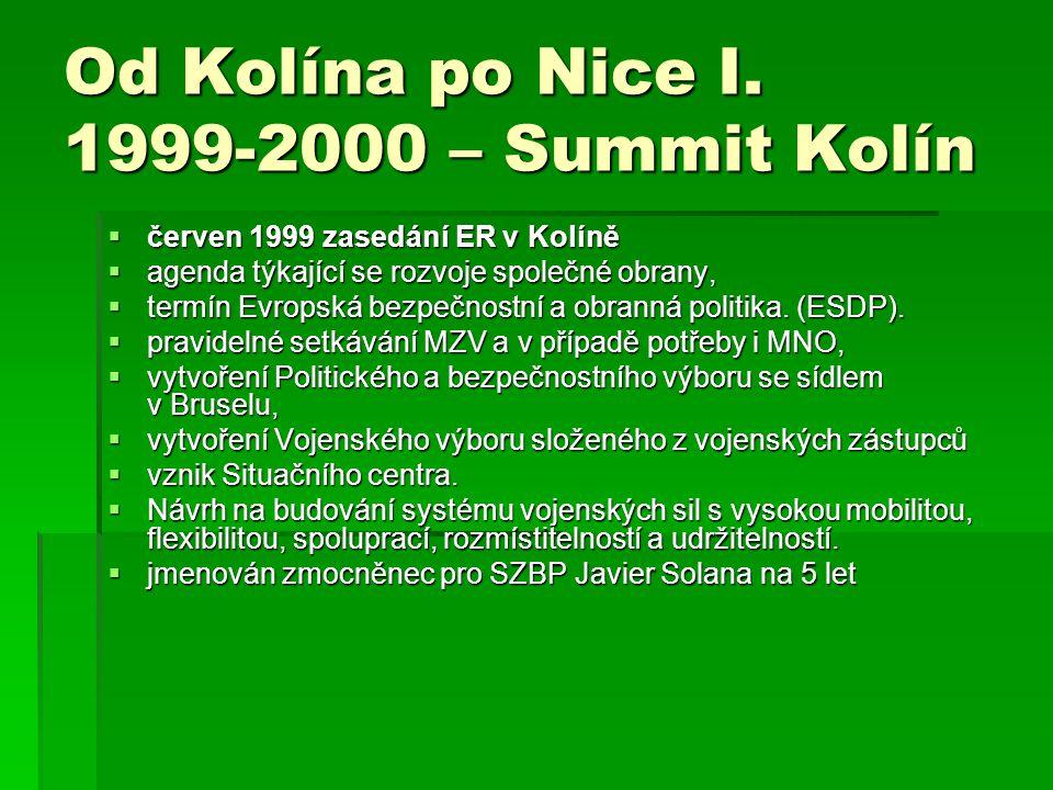Od Kolína po Nice I. 1999-2000 – Summit Kolín