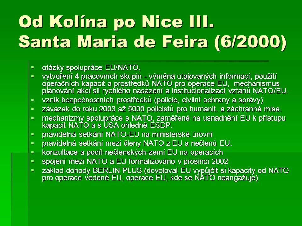 Od Kolína po Nice III. Santa Maria de Feira (6/2000)